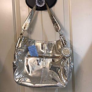 Gold Antonio Melani handbag